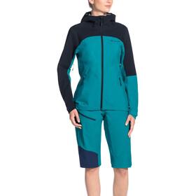 VAUDE Moab Rain Jacket Damen alpine lake
